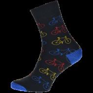 Ponožky - Kolo černé - velikost 47-50