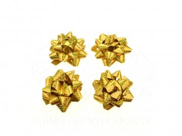 Mašle 4ks v balení zlaté