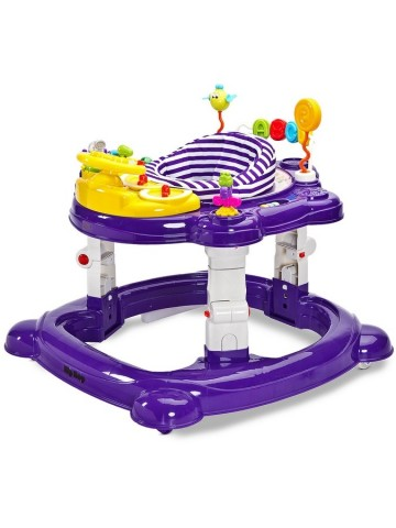 Dětské chodítko Toyz HipHop 3v1 fialové