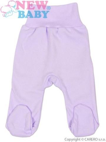 Dojčenské polodupačky New Baby fialové