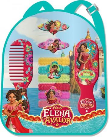Sada vlasových doplňků v batůžku Princezna Elena z Avaloru