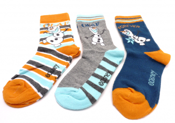 Ponožky - Olaf - EP4705-2 - velikost 31-34 cena za 3 páry