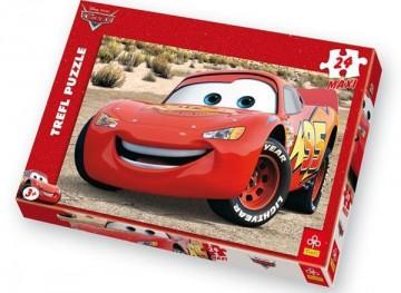 Maxi puzzle Cars Blesk 24 dílků