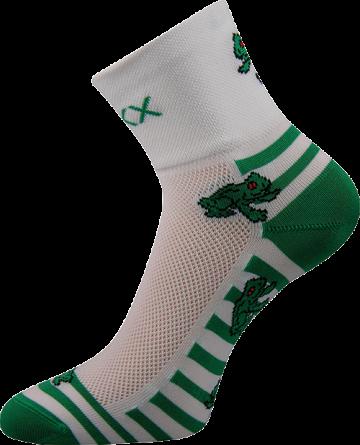 Ponožky - Žabky - velikost 35-38