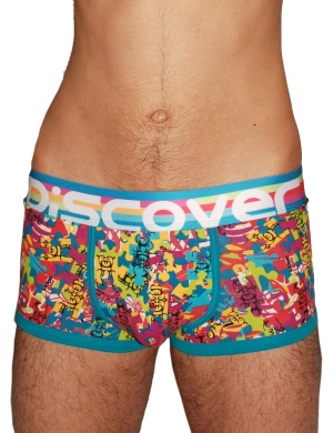 Pánské boxerky Discover Puzzle, Velikost oblečení L
