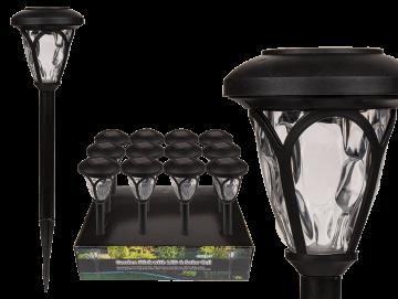 LED zahradní solární světlo lucerna