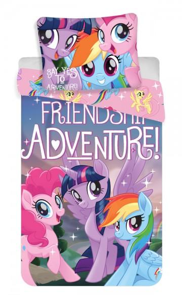 Povlečení My Little Pony Friendship adventure 140/200, 70/90