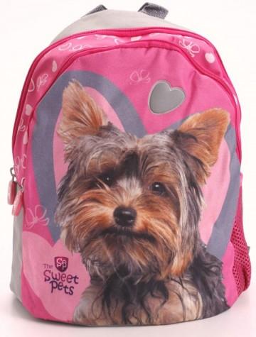 Dětský batůžek Sweet Pets růžový s pejskem