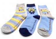 Dětské ponožky Mimoňi - 3 páry, velikost 31-34