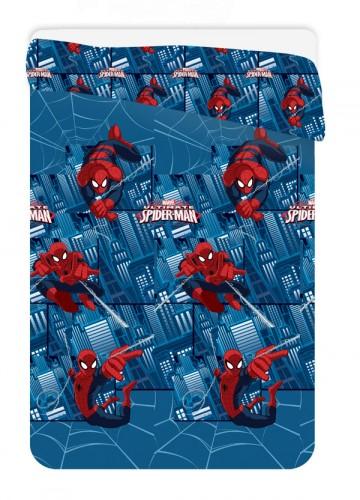 Letní prošívaná deka Spiderman Ultimate 180/260 cm