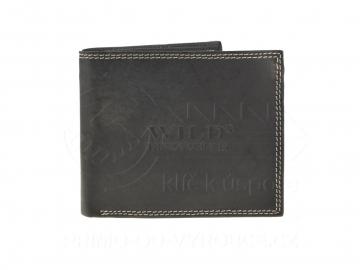 Férfi pénztárca Wild Things Only - fekete [6912]