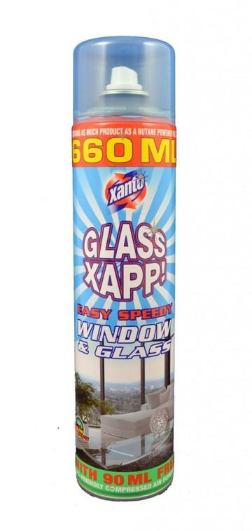 Xanto Power Activ - čistící pěna na okna, 660ml