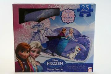 Puzzle pěnové Frozen