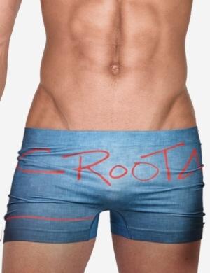 Pánské boxerky Croota Denim Blue 02, Velikost oblečení S - M