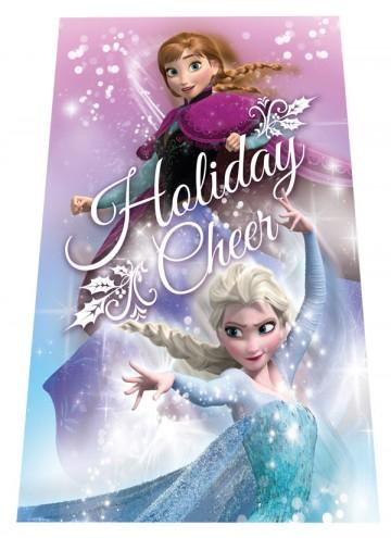 Fleece deka Ledové Království Holiday 100/150