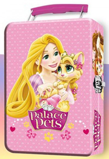 Dětský kovový kufřík Princess