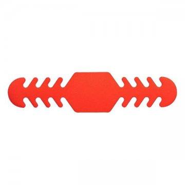Páska na natahování roušky 142576 - červená