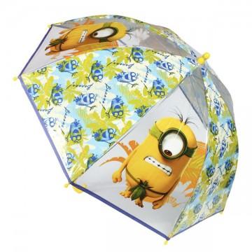 Průhledný deštník Mimoni bananas