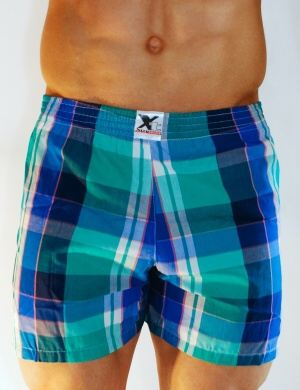 Pánské trenýrky Xtremen Shorts Boxer TH 21, Velikost oblečení M