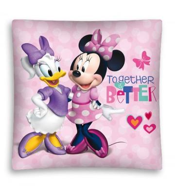 Povlak na polštářek Minnie a Daisy micro 40/40