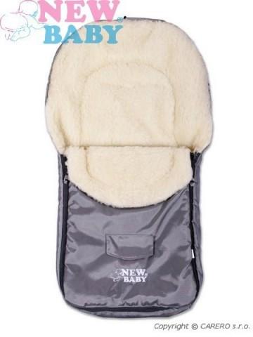 Zimní fusák New Baby Classic Wool grey