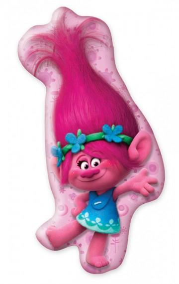 Polštářek 3D Trollové Poppy