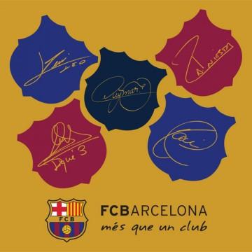Polštářek FC Barcelona champions 40x40