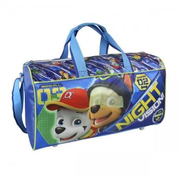 Sportovní taška Paw Patrol modrá 43 cm
