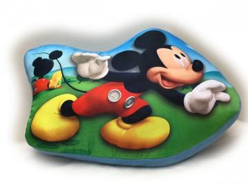 Tvarovaný polštářek Mickey 37 cm