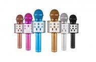 Karaoke mikrofon pro děti stříbrný