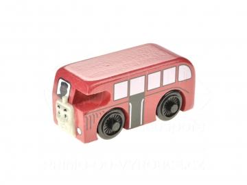 Dřevěný autobus 8cm