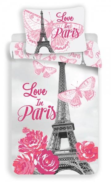 Povlečení Paříž Flowers 140/200