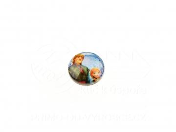 Ozdobný patent na náramek - Frozen 9