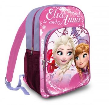 Batoh Ledové Království Anna a Elsa růžová 42 cm