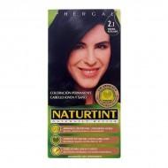 Barva bez amoniaku Naturtint - Modrá černá, Nº 2.1