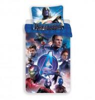 JERRY FABRICS Povlečení Avengers Endgame Bavlna, 140/200, 70/90 cm
