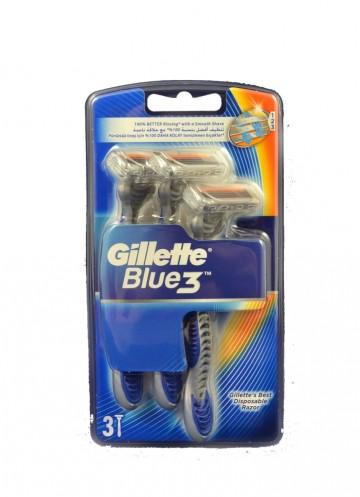 Gillette Blue III 3ks pohotová holítka
