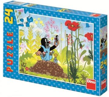 Puzzle Krtek a kalhotky 24 dílků