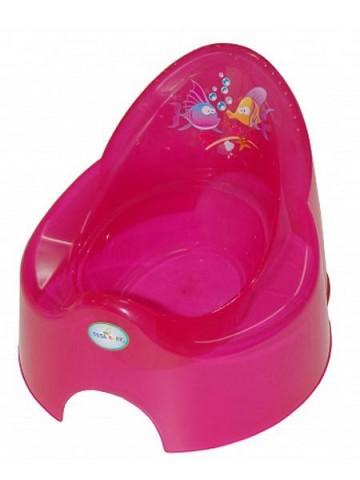 Dětský nočník Aqua růžový