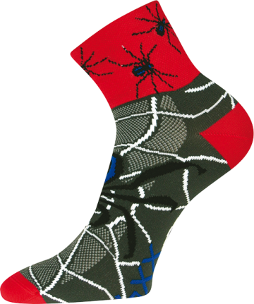 Ponožky - Pavouk - velikost 43-46