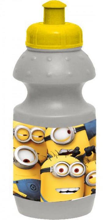 Láhev na pití Mimoni šedá 350 ml