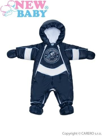 Zimní kombinéza New Baby Pirát tmavě modrá