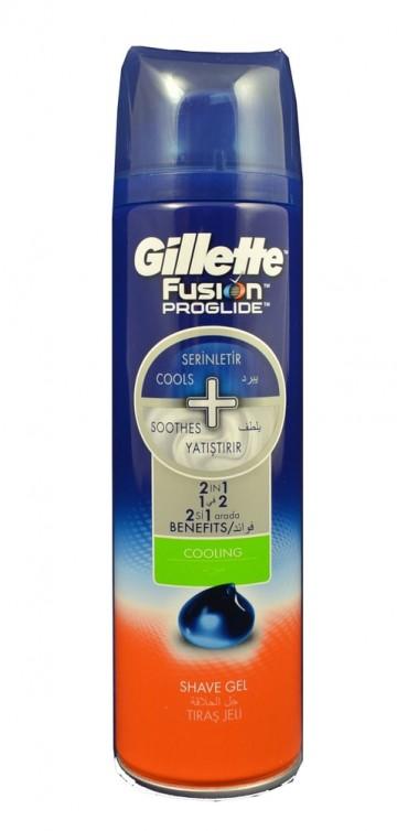 Gillette gel Fusion Proglide 200ml Cooling