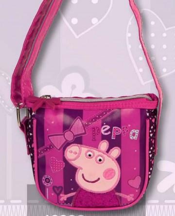Kabelka Peppa Pig Fuchsiová