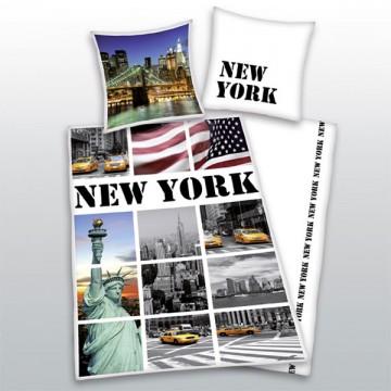 Povlečení New York vlajka 140/200