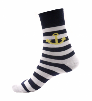 Ponožky - Crazy - Kotva - velikost 41-46
