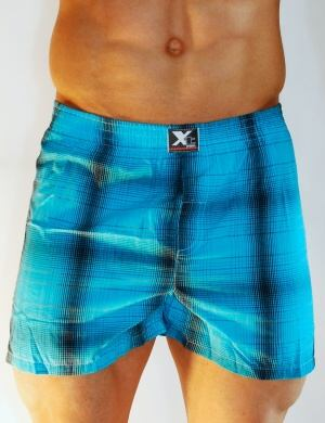 Pánské trenýrky Xtremen Shorts Boxer TH 18, Velikost oblečení M
