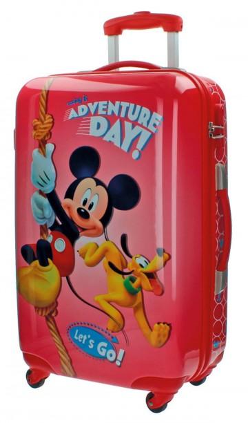 Cestovní kufr ABS Mickey Adventure day 67 cm