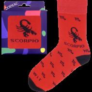 Ponožky - Zodiac - Štír - velikost 43-46