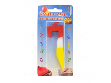 Dortová svíčka - sedmička